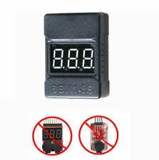 RC Lipo Battery Low Voltage Tester BBX1-8S Buzzer Alarm LED Indicator Checker BE