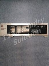 Washer Control Panel, Faceplate For Ge P/N: Wccd2050 175D3607 175D3688G001 Used