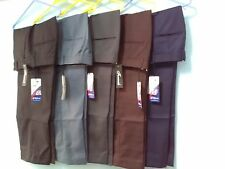 Men trouser office business work formal casual big size plus 32 - 48