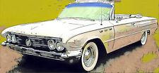 BUICK Electra Invicta Le Sabre 2D Cabrio 1961 –62 Windschutzscheibe windshield