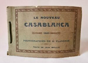 Album Photo The New Casablanca 1920 18 Photographs Papers Of M.Flandrin