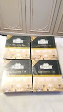 4x100 AHMAD TEA LONDON Cardamon Tea 7oz/200g   teabags (Cardamom Tea)