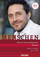 Menschen A2. Glossar Deutsch-Arabisch - Daniela Niebisch - 9783197919027