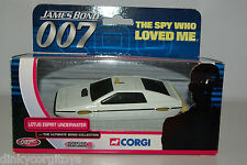 CORGI TY04510 JAMES BOND 007 LOTUS ESPRIT UNDERWATER MIB RARE SELTEN