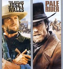 2 Clint Eastwood western movies Outlaw Josey Wales - PG, Pale Rider - R new DVDs