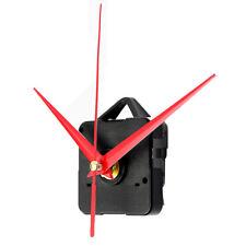 2pcs Black Quartz Clock Movement Mechanism DIY Repair Part Kit Gold Triangl R1E7
