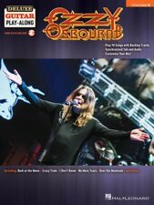 Ozzy Osbourne Sheet Music Deluxe Guitar Play-Along Book and Audio NEW 000248413