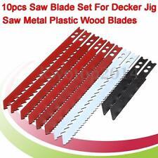 10Pcs JigSaw Blade Set For Jig Saw Metal Plastic Wood Blades
