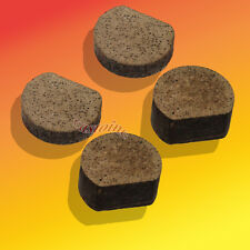 """2 Pair Flat-End Pucks For Most Disc Brakes Fits Go-Karts Rotary 490 Od: 11/16"""""""