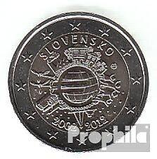 Slowakije 2012 Stgl./ongecirculeerd 2012 2 Euro 10 Years Euro Cash