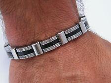 Pulsera De Acero Inoxidable 316L Para Hombre Joyería Bracelet R8