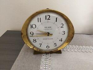 Antico orologio sveglia anni 50 Big Ben repeater westclox