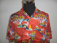 vintage TOM TINO Hawaii Hemd hawaiihemd Viskose shirt gemustert surf Gr.M (L)