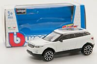 Land Rover Evoque White, Bburago 18-30214, scale 1:43, toy car model boy gift