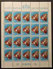 Timbre EUROPA LICHTENSTEIN Stamp - Yvert et Tellier n°585 x20 n** (Y3)