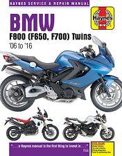 4872 Haynes BMW F650, F700 & F800 Twins (2006 - 2016) Workshop Manual