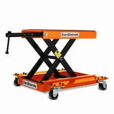 Motorcycle jack scissor lift dolly mover ConStands M orange Motorbike