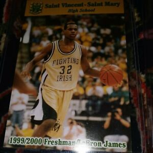 Lebron James High School Cards. Freshman- Senior