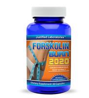 Forskolin 1020 Coleus Forskohlii Root Extract 20% 250mg Weight Loss Fat Burner
