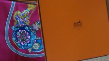 Hermes silk scarf,  FLACONS  , NEW  WITH BOX AND RIBBON