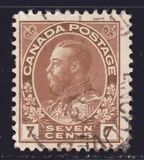 """1911-25 Canada SC# -114-King George V""""Admiral"""" Issue-Lot CU257-Used"""