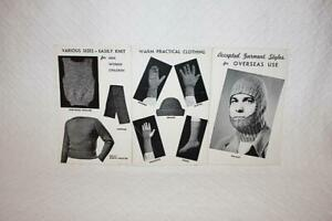 Vintage Accepted Garment Styles for Overseas Use Made with Yarn
