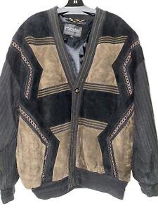 Mens Leather Jacket xl Maxini