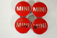 Genuine MINI F54 F55 F56 F57 F60 Floating Spinning Center Cap Set 3612246970