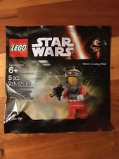 LEGO STAR WARS Rebel A-Wing Pilot Minifigure Polybag 5004408 New Promo Figure!
