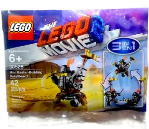 Lego  The Movie 2. Mini Master-Building MetalBeard 30528 Polybag BNIP