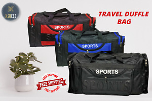 Mens & Boys Sport & Gym Holdall Duffle Bags SPORTS WORK CASUAL GYM TRAVEL SCHOOL