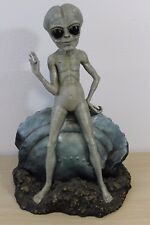 Toscano Crashed Spaceship UFO Alien Standing Waiting Waving Roswell Area 51