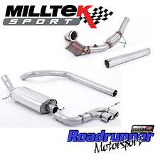 """Milltek Full Exhaust System Ibiza Cupra 1.8 TFSi (6P) 3"""" & Downpipe Sports Cat"""