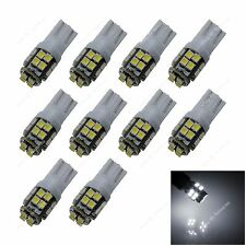 10pcs White T10 W5W 20 SMD 3528 LED Car Clearance Lamp Roof Light Reading Bulb
