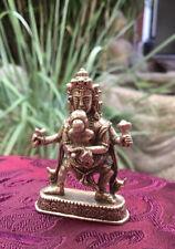 Padmasambhava mit seiner Yogini Minitatur Buddha Statue
