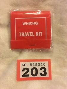Which Magazine Vintage Thread Handy Sewing box Mending Kit souvenir Book #203