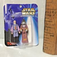 1999 STAR WARS EPISODE 1 WORLD'S SMALLEST NMOC ACTION FIGURES SIO BIBBLE HASBRO!