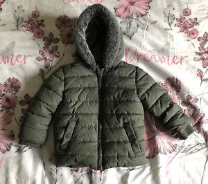 Baby Boy's - Coat Age 12-18 Years - Grey - George - Hooded -Fabulous Winter Coat