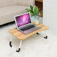 Folding Laptop Table Stand Desk Bed Computer Study Portable Adjustable Sofa Tray