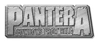 PANTERA METALL PIN ANSTECKER BADGE BUTTON # 2 COWBOYS FROM HELL