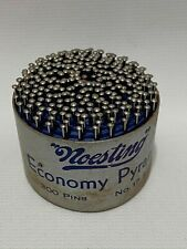 Vintage Noesting Economy Pyramids 300 Pins No. 17 Steel New Old Stock Crafts
