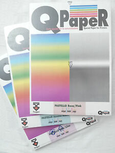 (PRL) LOTTO QPAPER RUGGERI 600 FOGLI CARTA A3 COLOUR PAPER PRINTERS INKJET LASER