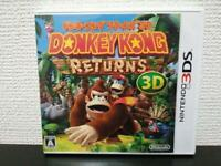 USED Donkey Kong Country Returns 3D 3DS JAPAN Import Nintendo 3DS