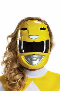 Mighty Morphin Power Rangers Yellow Ranger Adult Mask