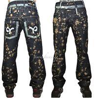 True Peviani jeans, mens, rock time is money hip hop, party-star splash denim