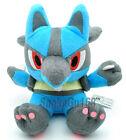 """7"""" Pokemon Rare Lucario Plush Doll Toy New+PB12"""