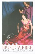 ART PRINT - Fainting Lady On The Set by Bruce Weber Original 1995 Poster