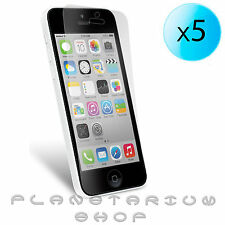 5 x blades PROTECTOR ULTRA CRYSTAL CLEAR TO IPHONE 5C 16 32 GB