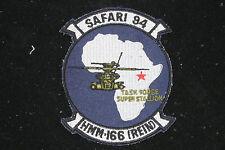 US MARINE SAFARI 94 HMM-166 REIN HAT PATCH TASK FORCE SUPER STALLION PIN UP WOW