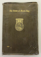 "Leather Bound ""The Battle of Manila Bay"" Epic Poem by Pay Director William Galt"